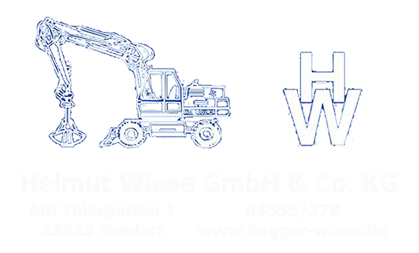 Bagger Wiese Kontakt-Banner